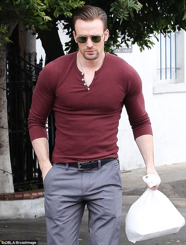 Mens Black Henley Shirt