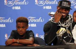 LeBron James Jr